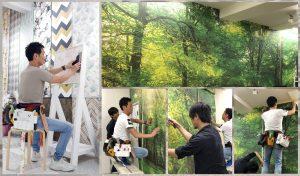 あんの木|輸入壁紙1014